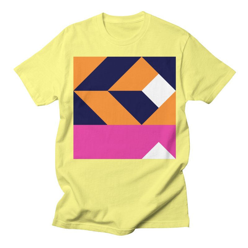 Geometric Design Series 4, Poster 6 (Version 2) Men's Regular T-Shirt by Madeleine Hettich Design & Illustration