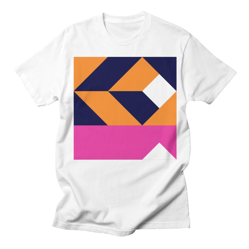 Geometric Design Series 4, Poster 6 (Version 2) Women's Regular Unisex T-Shirt by Madeleine Hettich Design & Illustration