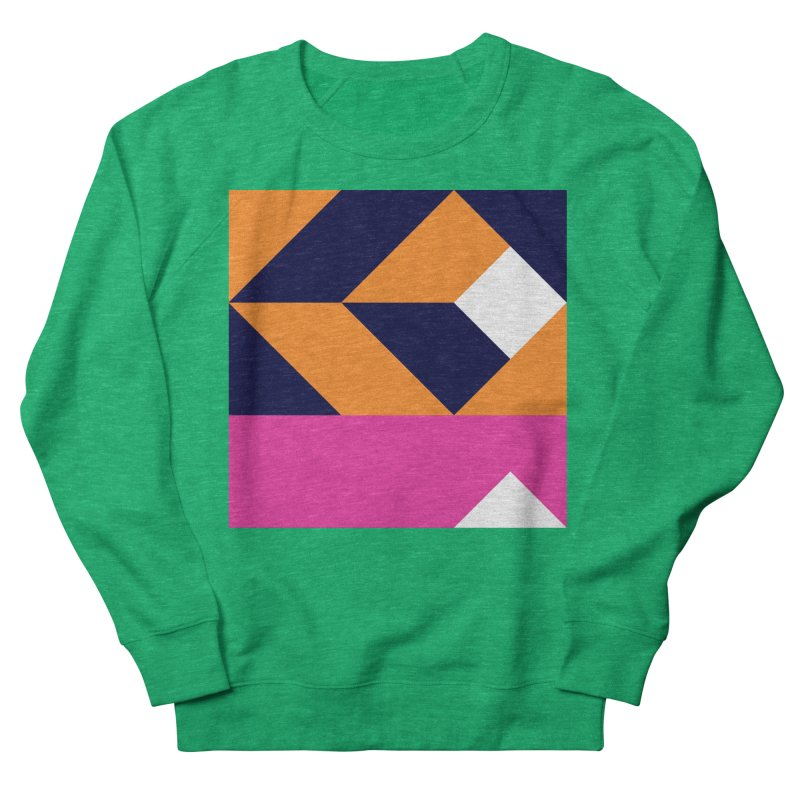 Geometric Design Series 4, Poster 6 (Version 2) Women's Sweatshirt by Madeleine Hettich Design & Illustration