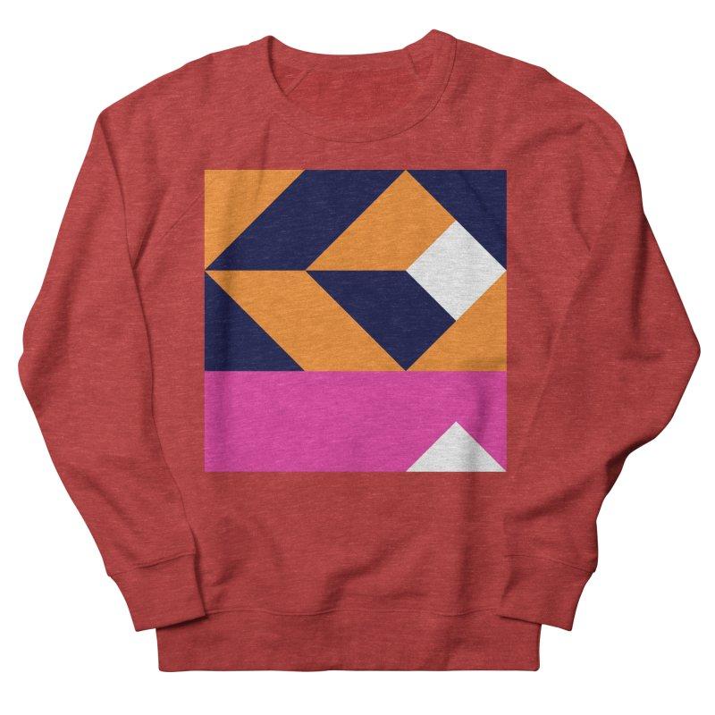 Geometric Design Series 4, Poster 6 (Version 2) Women's French Terry Sweatshirt by Madeleine Hettich Design & Illustration