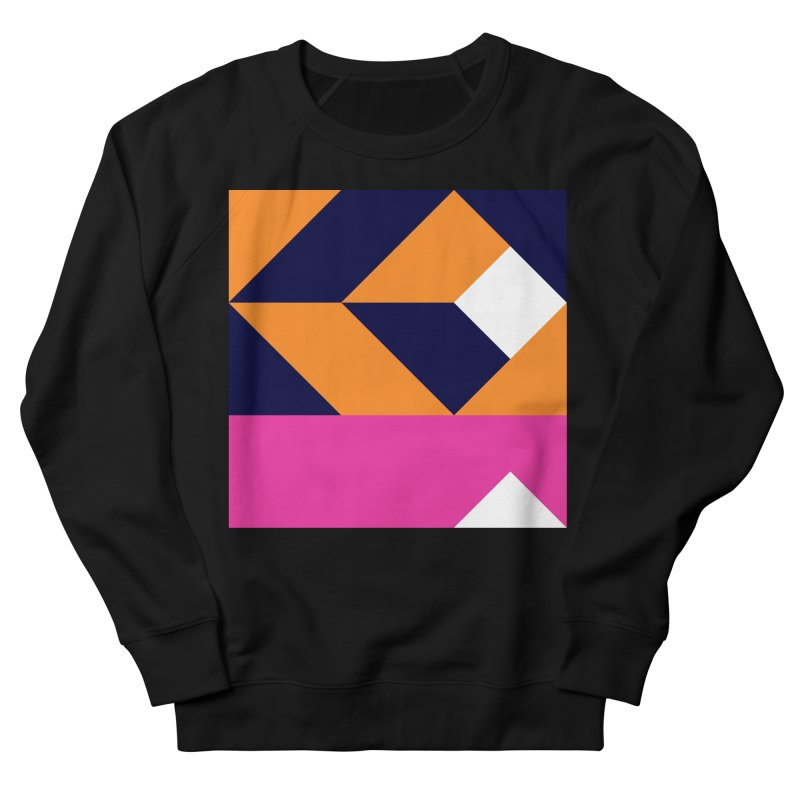 Geometric Design Series 4, Poster 6 (Version 2) Men's French Terry Sweatshirt by Madeleine Hettich Design & Illustration