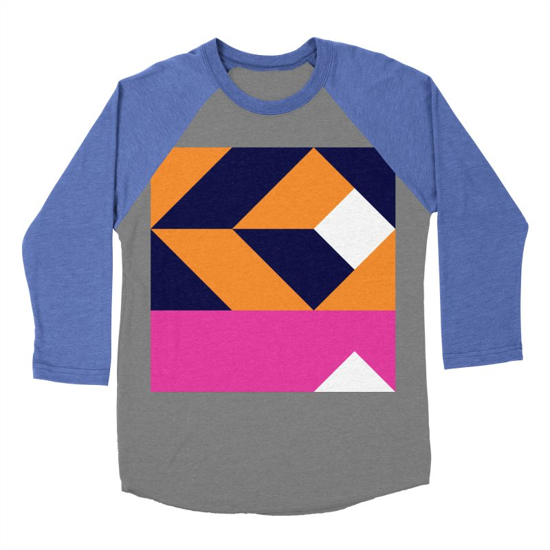 Geometric Design Series 4, Poster 6 (Version 2) Men's Baseball Triblend T-Shirt by Madeleine Hettich Design & Illustration