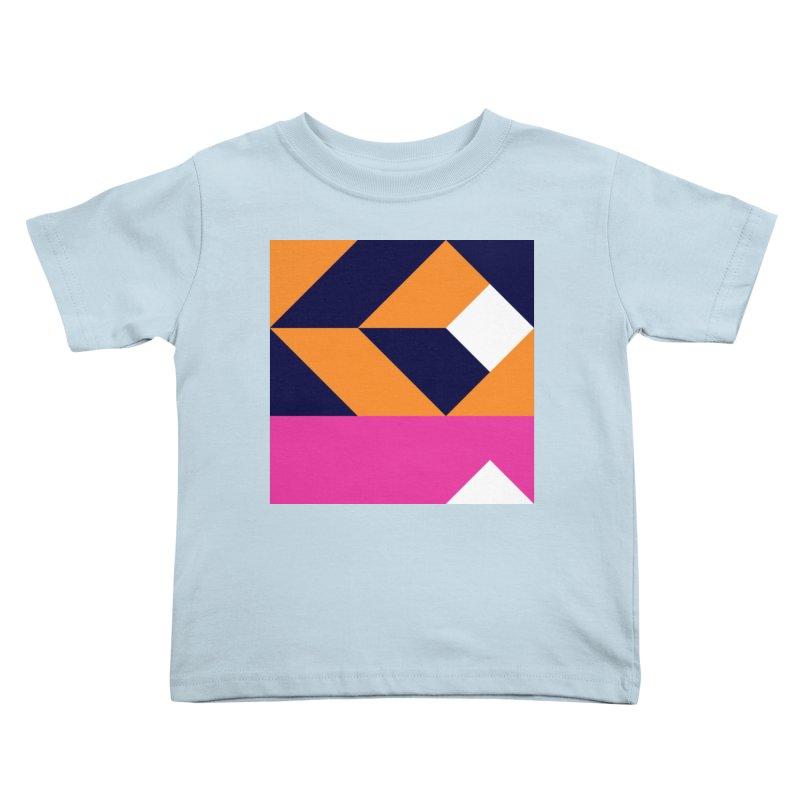 Geometric Design Series 4, Poster 6 (Version 2) Kids Toddler T-Shirt by Madeleine Hettich Design & Illustration