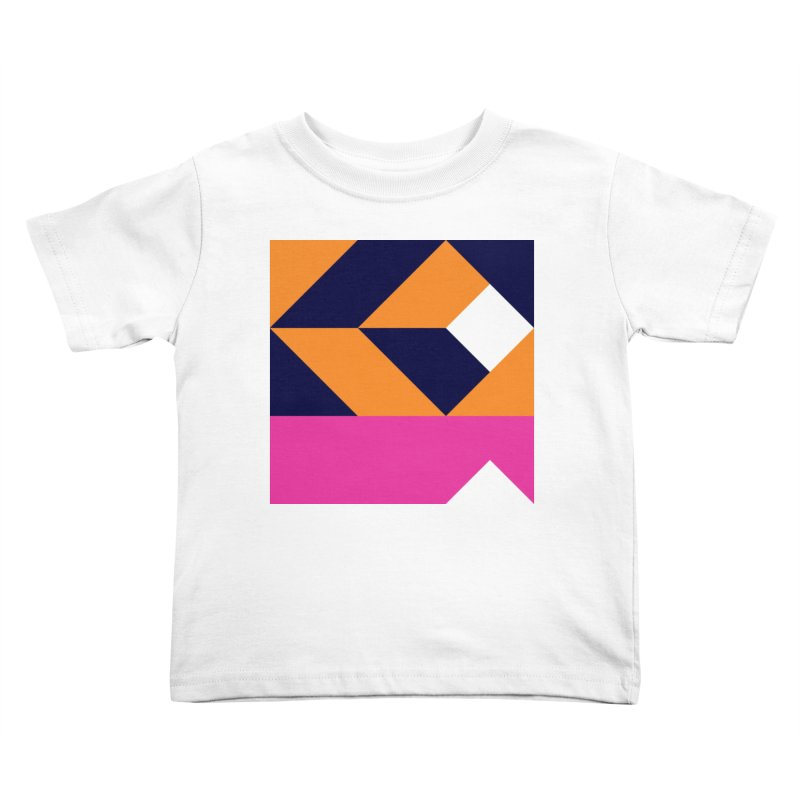 Geometric Design Series 4, Poster 6 (Version 2) Kids Toddler T-Shirt by Madeleine Hettich Design & Illustration
