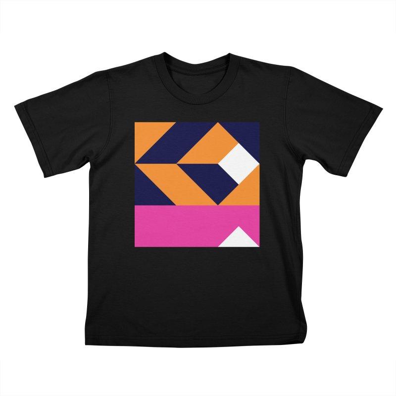 Geometric Design Series 4, Poster 6 (Version 2) Kids T-Shirt by Madeleine Hettich Design & Illustration