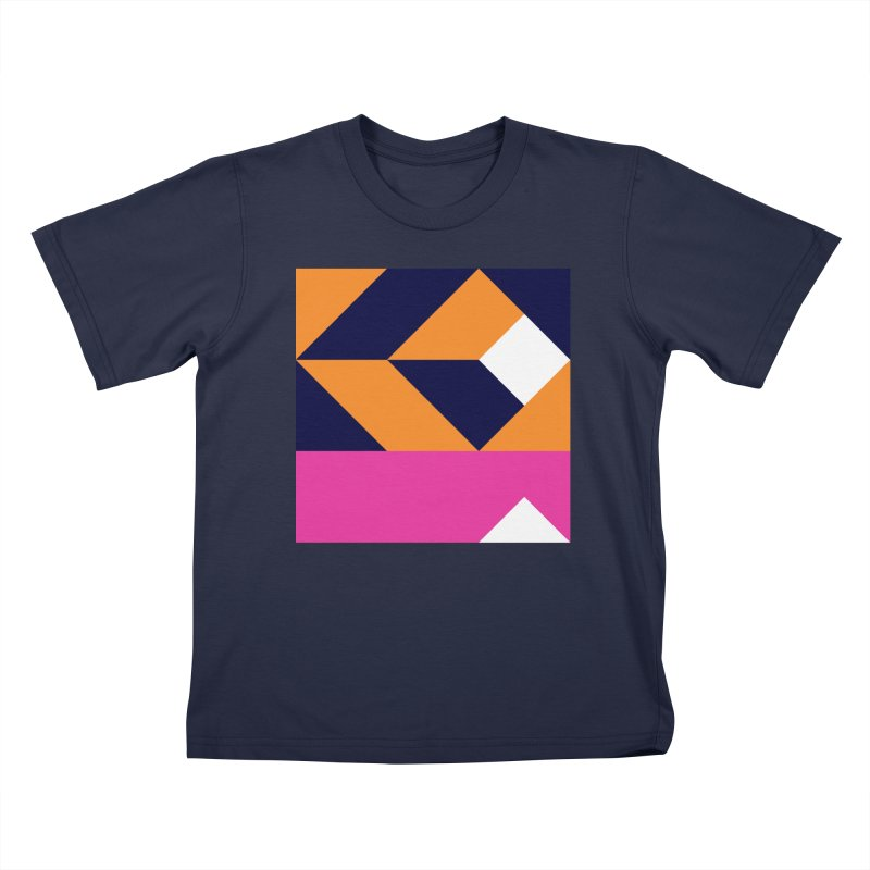 Geometric Design Series 4, Poster 6 (Version 2) Kids T-Shirt by Madeleine Hettich Design & Illustration