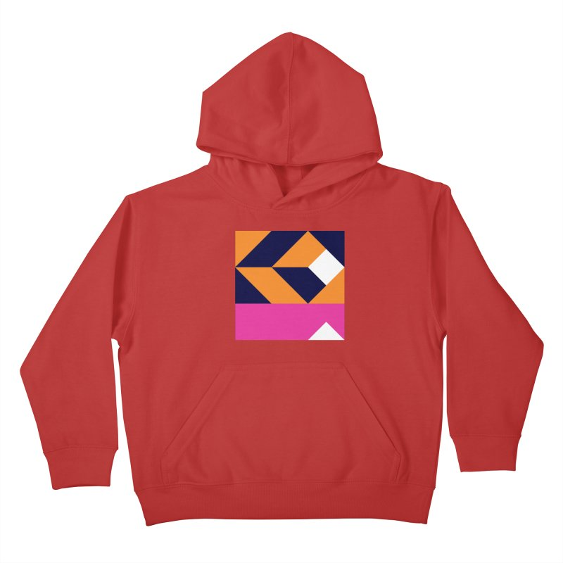 Geometric Design Series 4, Poster 6 (Version 2) Kids Pullover Hoody by Madeleine Hettich Design & Illustration