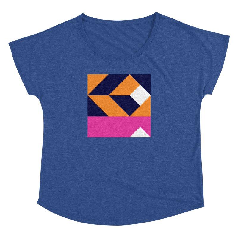 Geometric Design Series 4, Poster 6 (Version 2) Women's Dolman by Madeleine Hettich Design & Illustration