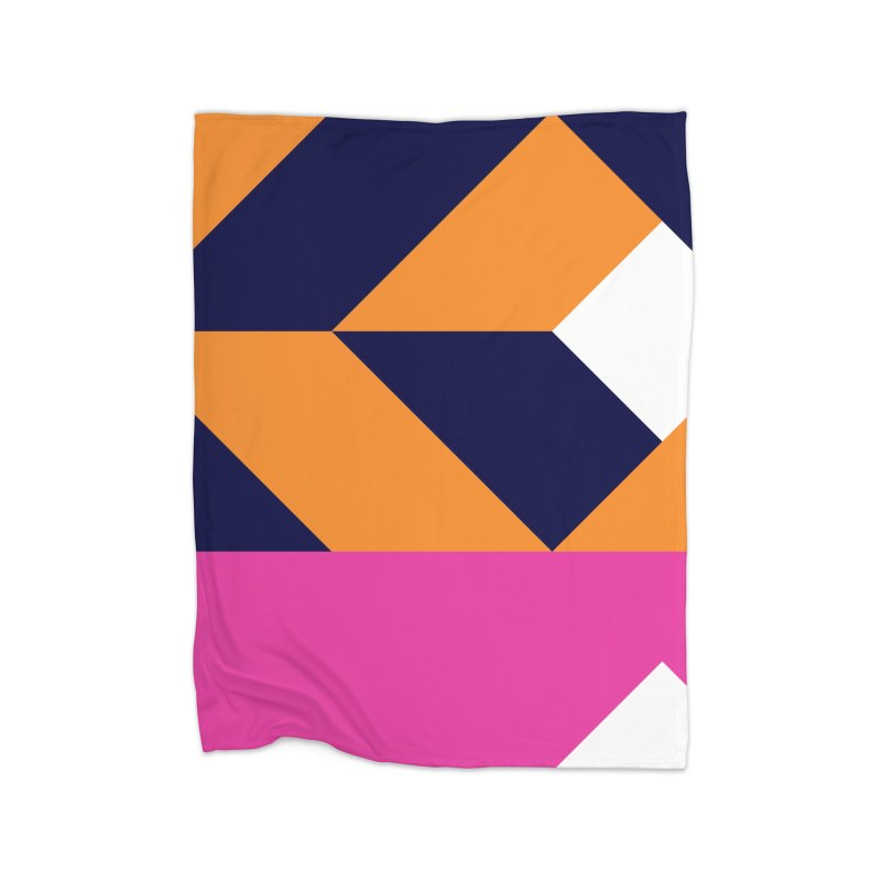 Geometric Design Series 4, Poster 6 (Version 2) Home Fleece Blanket Blanket by Madeleine Hettich Design & Illustration