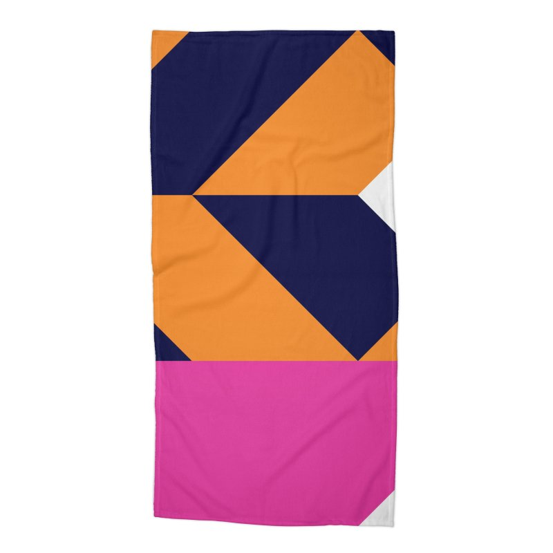Geometric Design Series 4, Poster 6 (Version 2) Accessories Beach Towel by Madeleine Hettich Design & Illustration