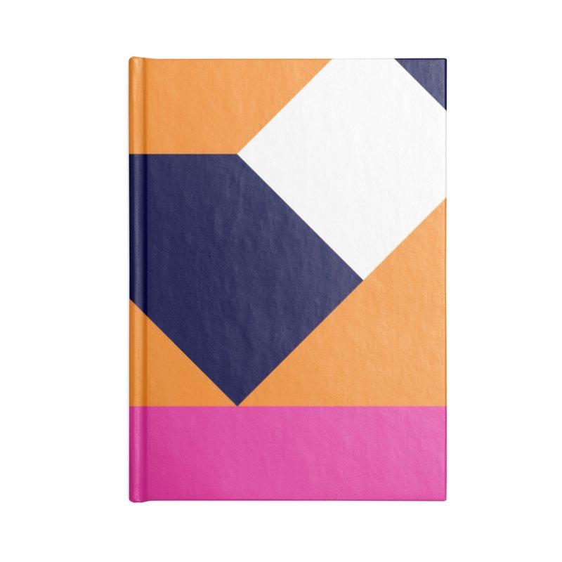 Geometric Design Series 4, Poster 6 (Version 2) Accessories Notebook by Madeleine Hettich Design & Illustration