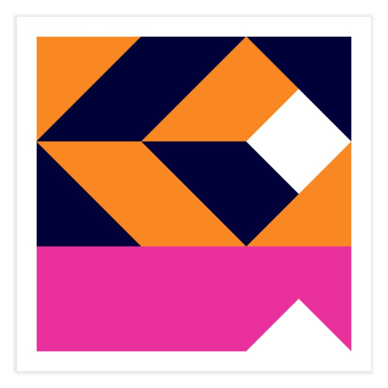 Geometric Design Series 4, Poster 6 (Version 2) Home Fine Art Print by Madeleine Hettich Design & Illustration