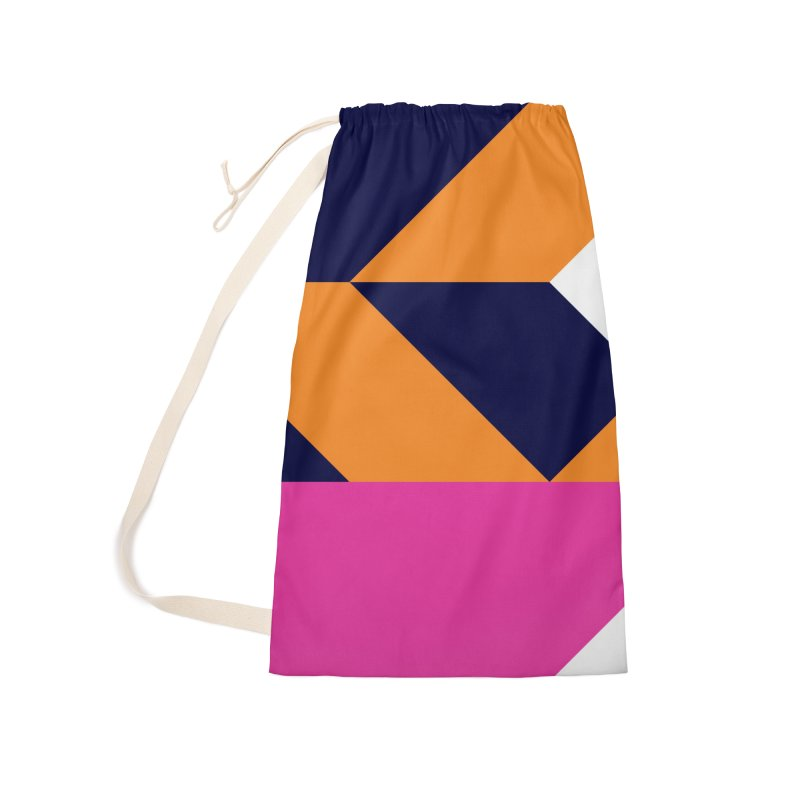 Geometric Design Series 4, Poster 6 (Version 2) Accessories Laundry Bag Bag by Madeleine Hettich Design & Illustration