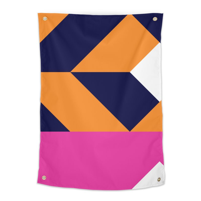 Geometric Design Series 4, Poster 6 (Version 2) Home Tapestry by Madeleine Hettich Design & Illustration