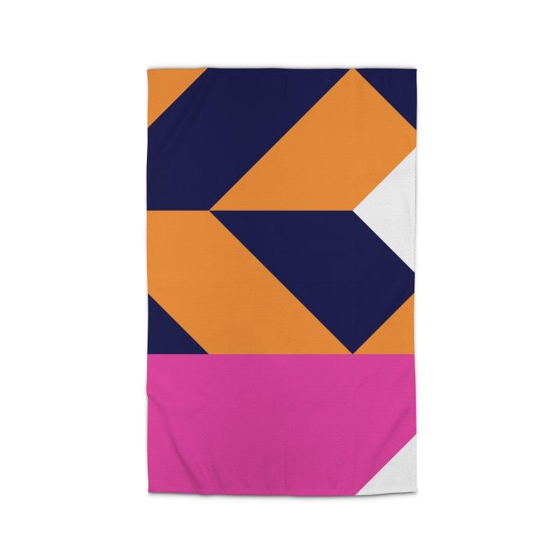 Geometric Design Series 4, Poster 6 (Version 2) Home Rug by Madeleine Hettich Design & Illustration