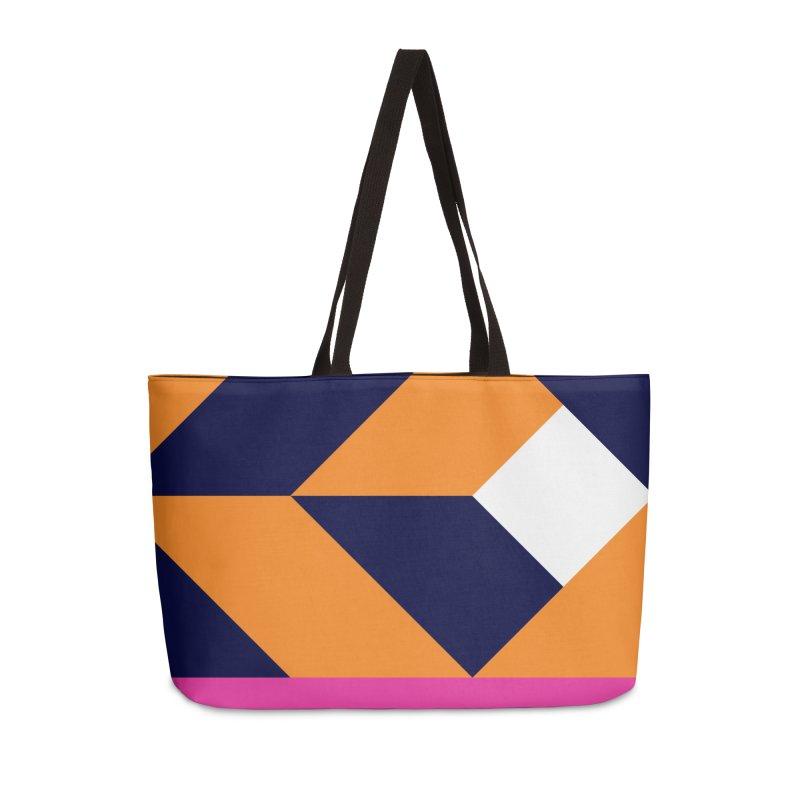 Geometric Design Series 4, Poster 6 (Version 2) Accessories Weekender Bag Bag by Madeleine Hettich Design & Illustration