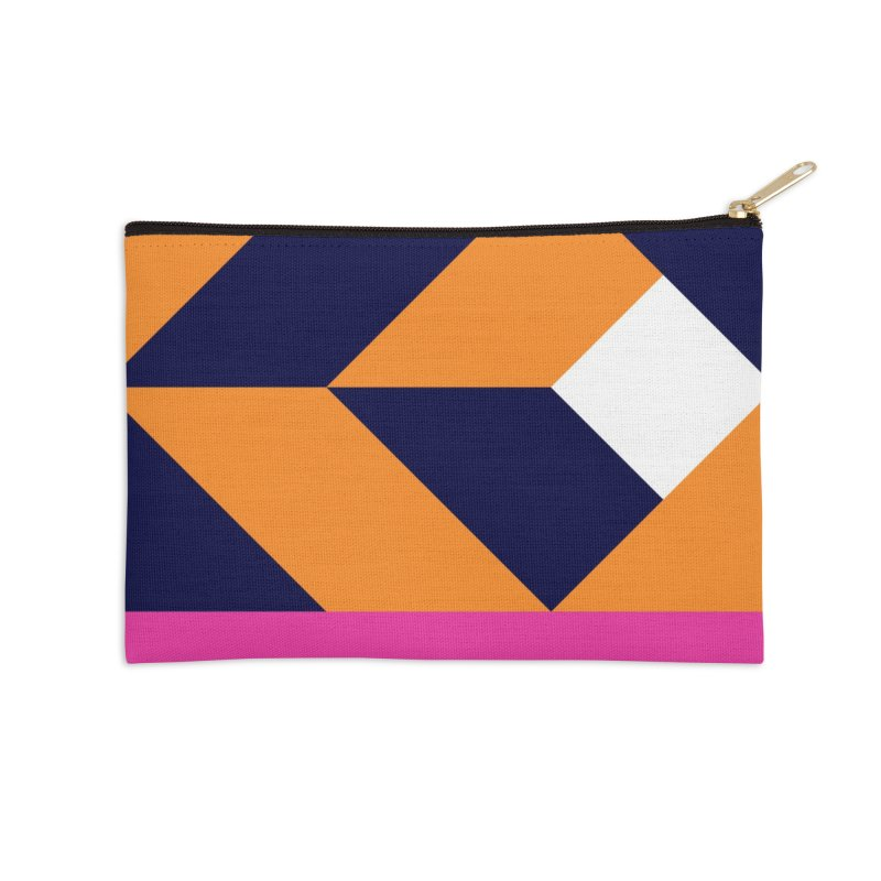 Geometric Design Series 4, Poster 6 (Version 2) Accessories Zip Pouch by Madeleine Hettich Design & Illustration