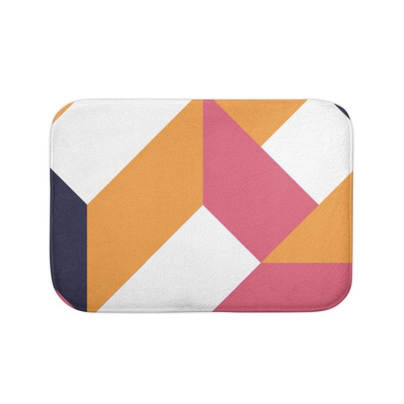 Geometric Design Series 4, Poster 5 Home Bath Mat by Madeleine Hettich Design & Illustration