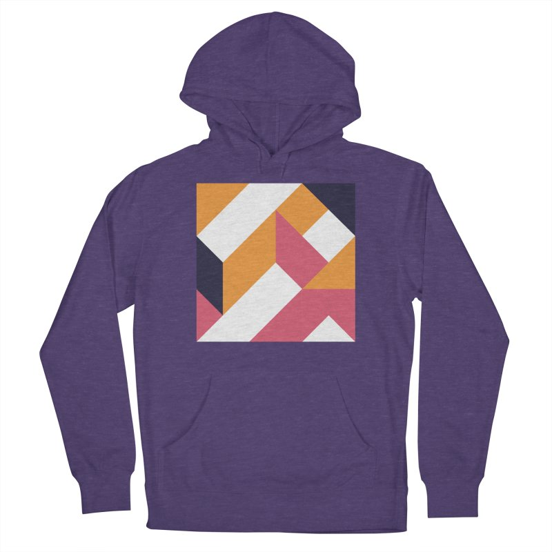 Geometric Design Series 4, Poster 5 Men's French Terry Pullover Hoody by Madeleine Hettich Design & Illustration
