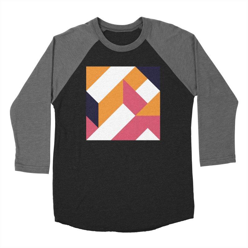 Geometric Design Series 4, Poster 5 Women's Baseball Triblend Longsleeve T-Shirt by Madeleine Hettich Design & Illustration