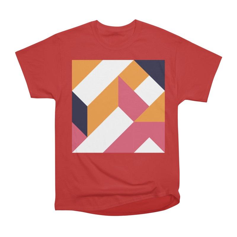 Geometric Design Series 4, Poster 5 Women's Heavyweight Unisex T-Shirt by Madeleine Hettich Design & Illustration