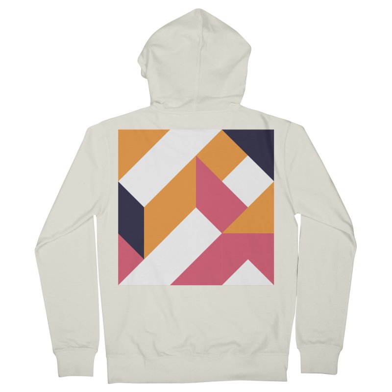 Geometric Design Series 4, Poster 5 Women's French Terry Zip-Up Hoody by Madeleine Hettich Design & Illustration