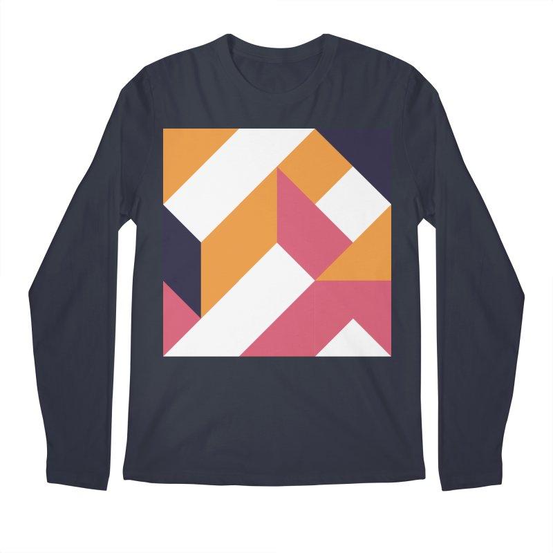 Geometric Design Series 4, Poster 5 Men's Longsleeve T-Shirt by Madeleine Hettich Design & Illustration