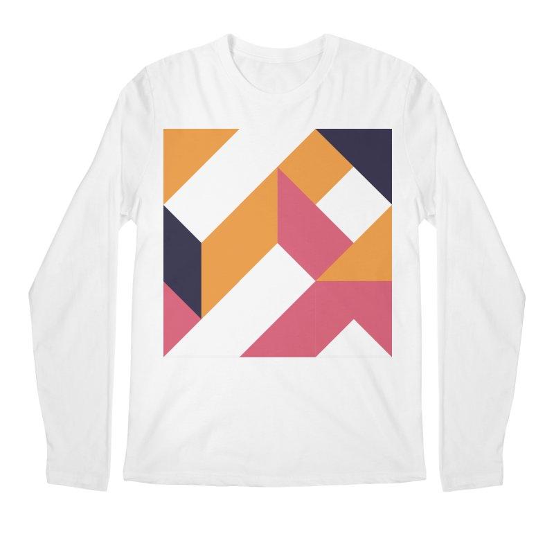 Geometric Design Series 4, Poster 5 Men's Regular Longsleeve T-Shirt by Madeleine Hettich Design & Illustration