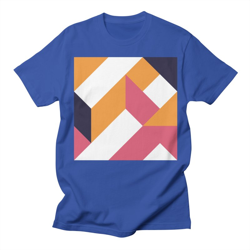 Geometric Design Series 4, Poster 5 Men's Regular T-Shirt by Madeleine Hettich Design & Illustration