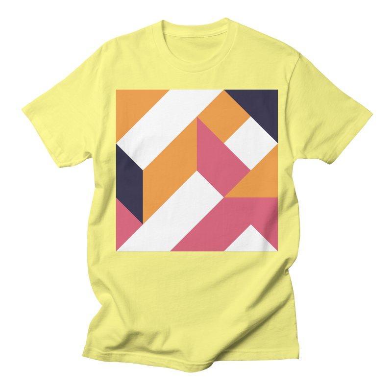 Geometric Design Series 4, Poster 5 Men's Regular T-Shirt by Madeleine Hettich Design & Illustration