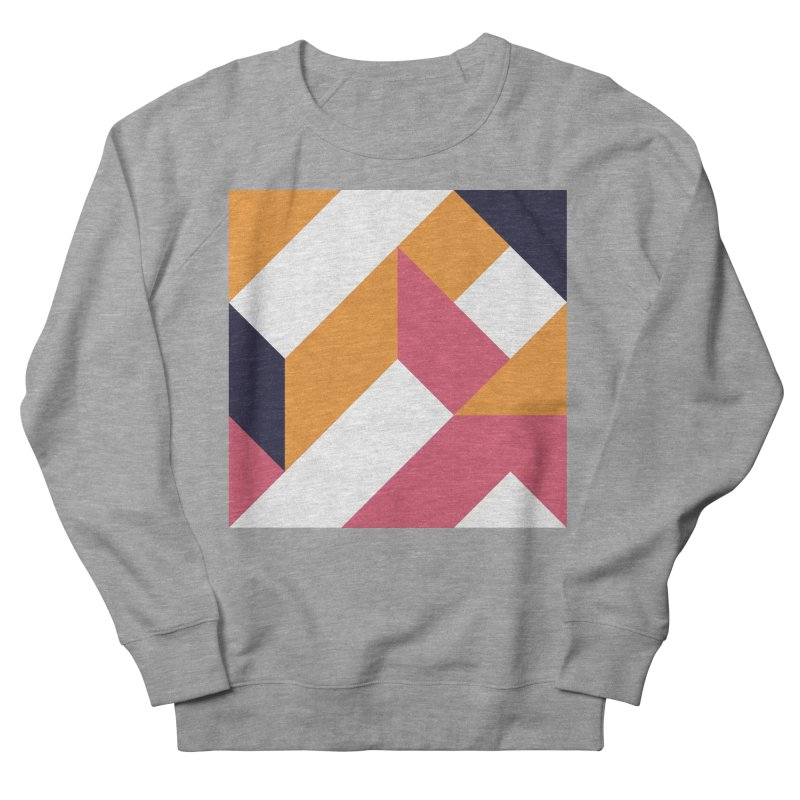 Geometric Design Series 4, Poster 5 Men's French Terry Sweatshirt by Madeleine Hettich Design & Illustration