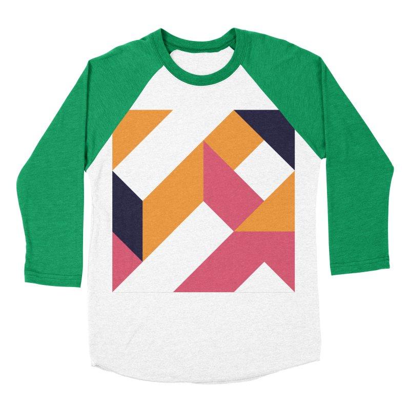 Geometric Design Series 4, Poster 5 Men's Baseball Triblend T-Shirt by Madeleine Hettich Design & Illustration