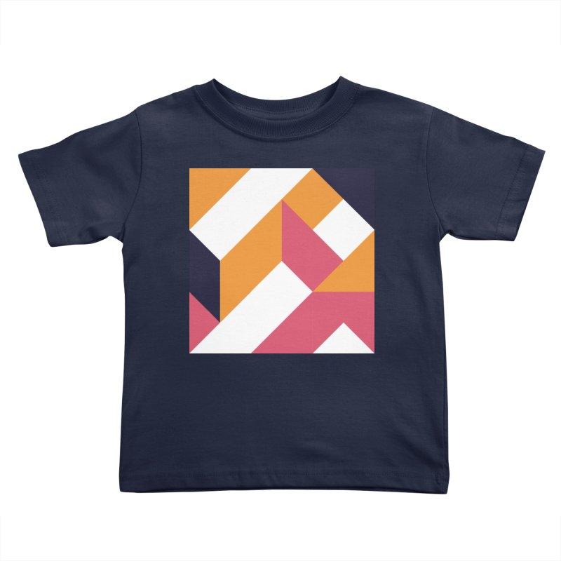 Geometric Design Series 4, Poster 5 Kids Toddler T-Shirt by Madeleine Hettich Design & Illustration