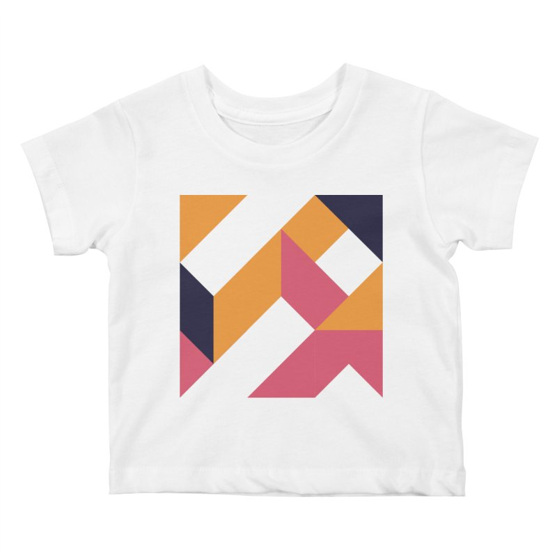Geometric Design Series 4, Poster 5 Kids Baby T-Shirt by Madeleine Hettich Design & Illustration
