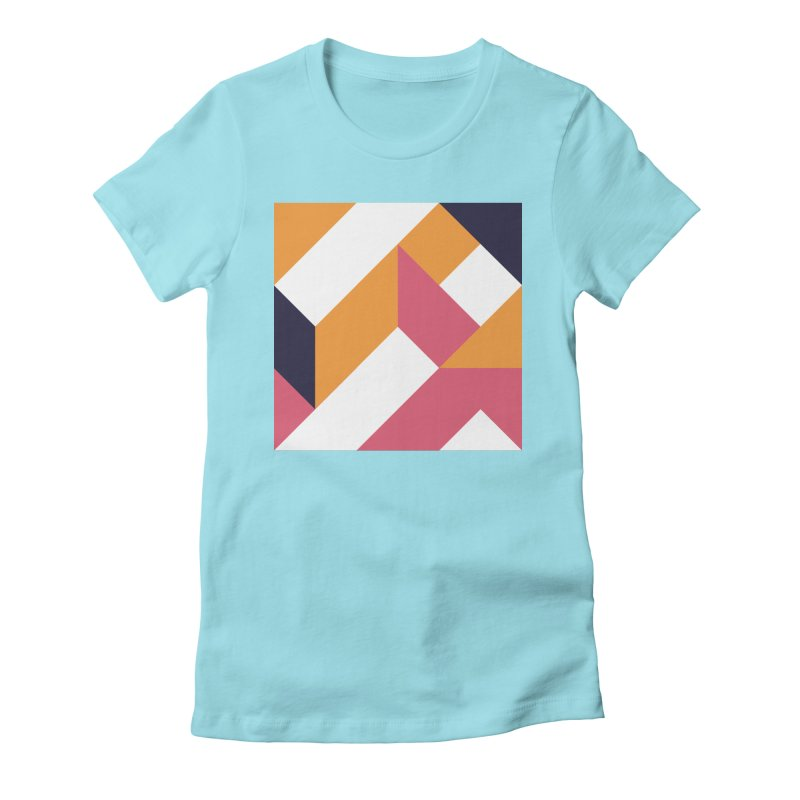 Geometric Design Series 4, Poster 5 Women's T-Shirt by Madeleine Hettich Design & Illustration
