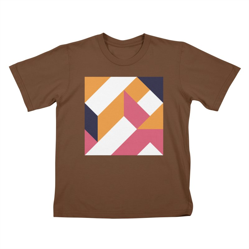 Geometric Design Series 4, Poster 5 Kids T-Shirt by Madeleine Hettich Design & Illustration