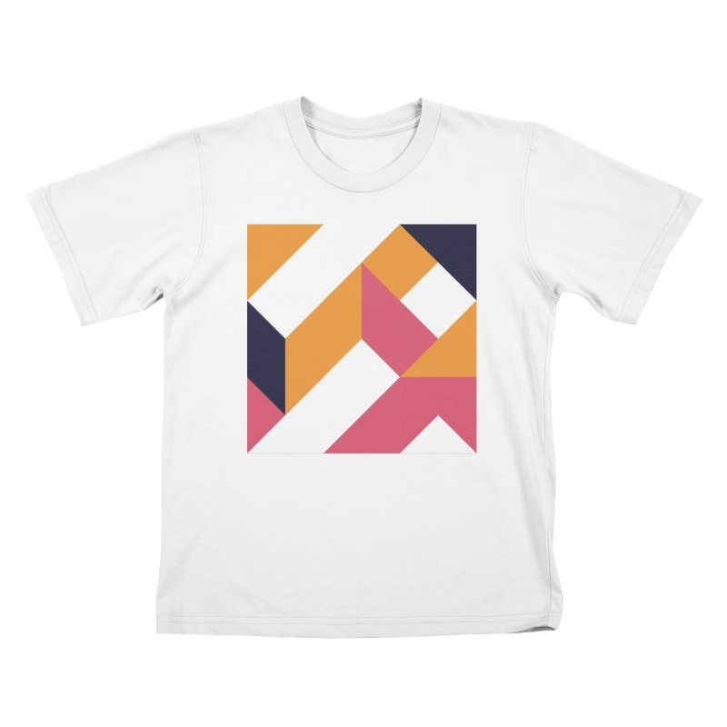 Geometric Design Series 4, Poster 5 Kids T-Shirt by Madeleine Hettich Design & Illustration