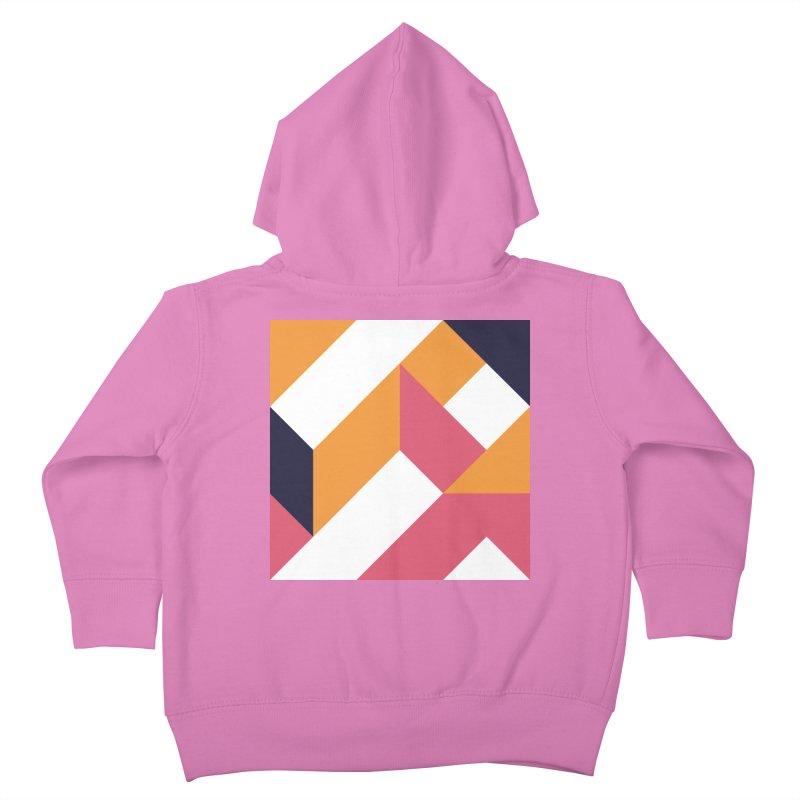 Geometric Design Series 4, Poster 5 Kids Toddler Zip-Up Hoody by Madeleine Hettich Design & Illustration