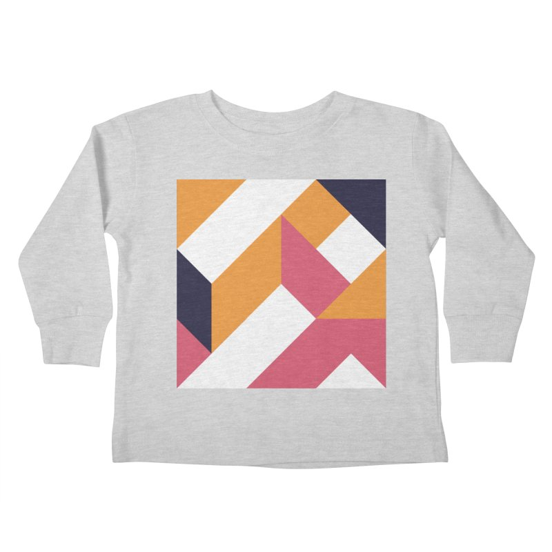 Geometric Design Series 4, Poster 5 Kids Toddler Longsleeve T-Shirt by Madeleine Hettich Design & Illustration