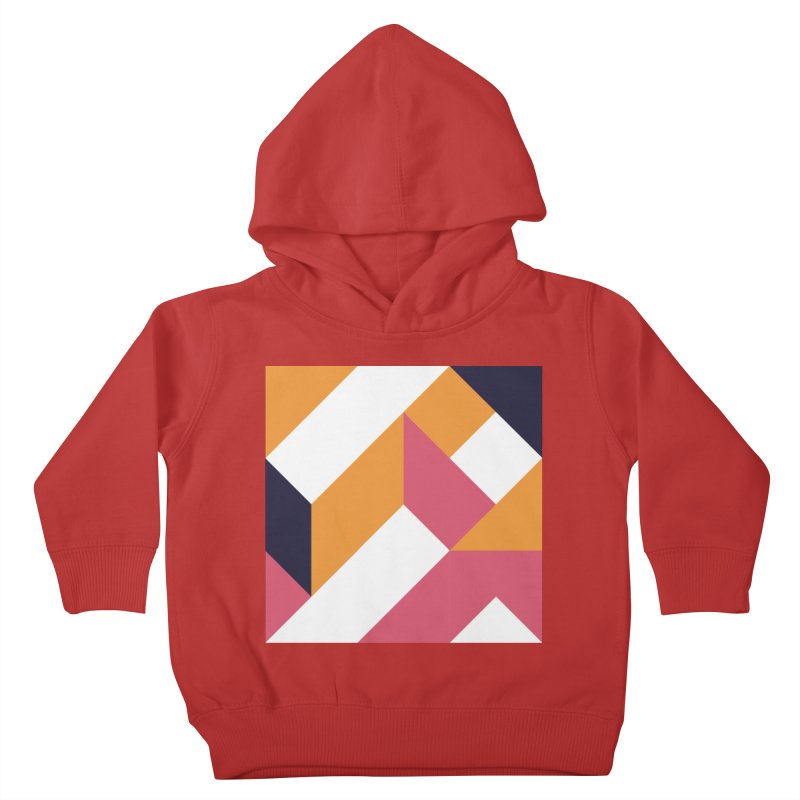 Geometric Design Series 4, Poster 5 Kids Toddler Pullover Hoody by Madeleine Hettich Design & Illustration