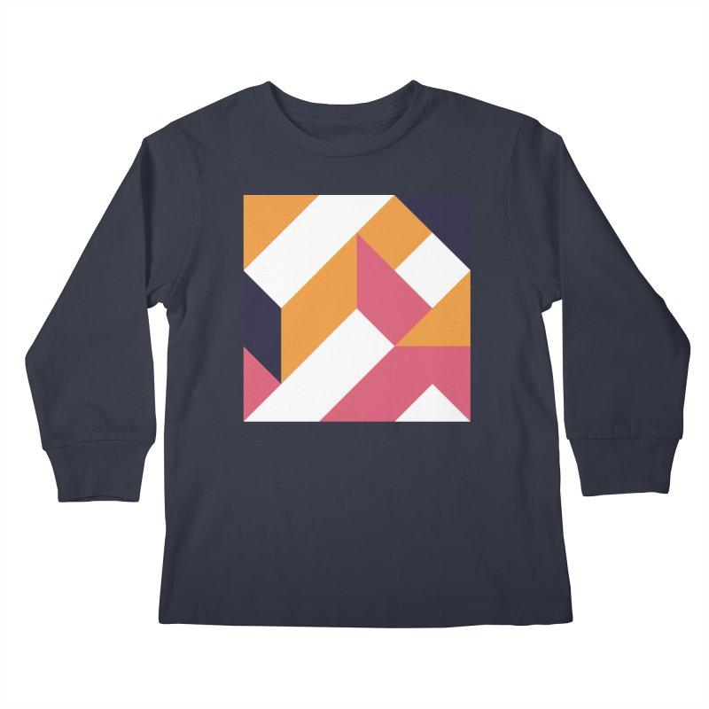 Geometric Design Series 4, Poster 5 Kids Longsleeve T-Shirt by Madeleine Hettich Design & Illustration