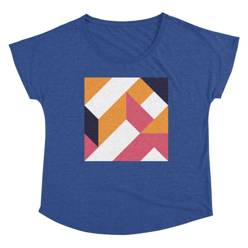 Geometric Design Series 4, Poster 5 Women's Scoop Neck by Madeleine Hettich Design & Illustration