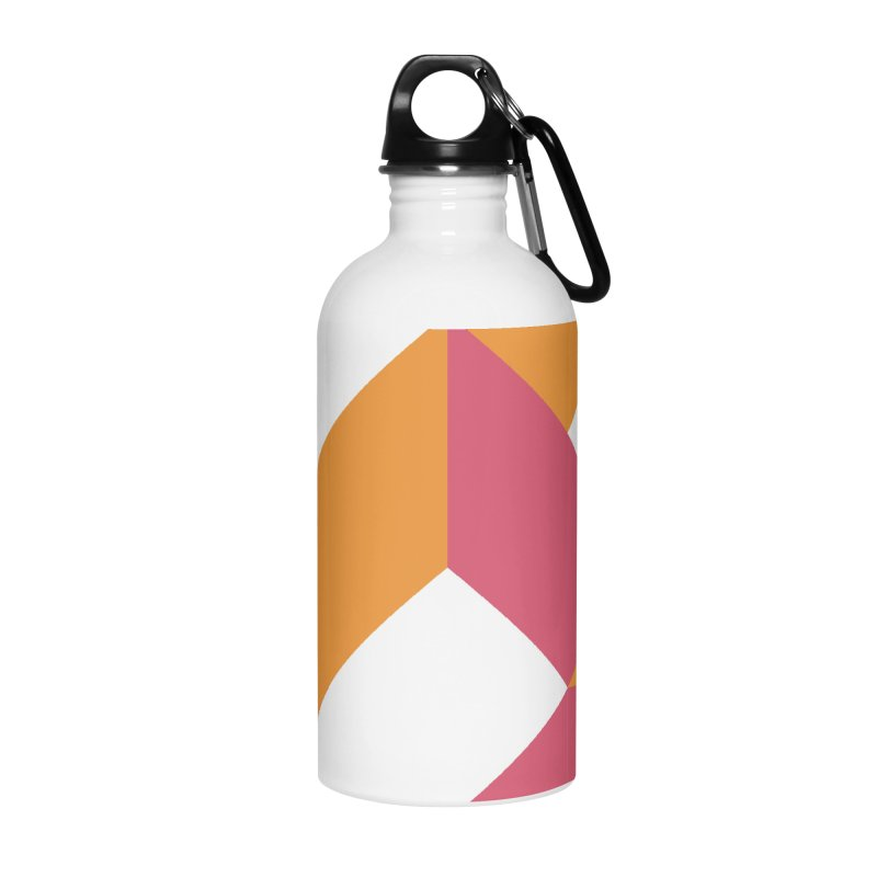 Geometric Design Series 4, Poster 5 Accessories Water Bottle by Madeleine Hettich Design & Illustration