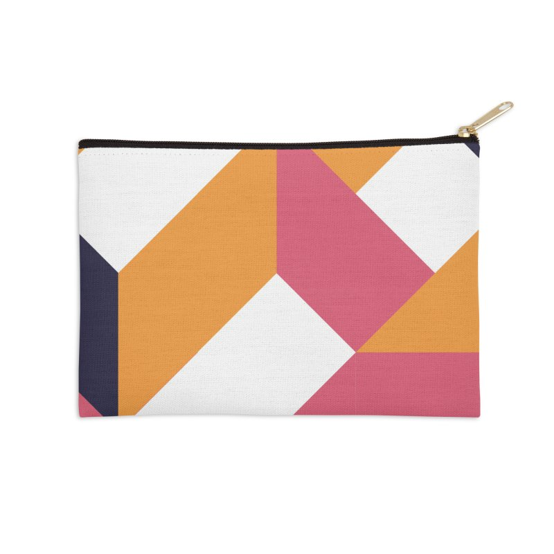 Geometric Design Series 4, Poster 5 Accessories Zip Pouch by Madeleine Hettich Design & Illustration