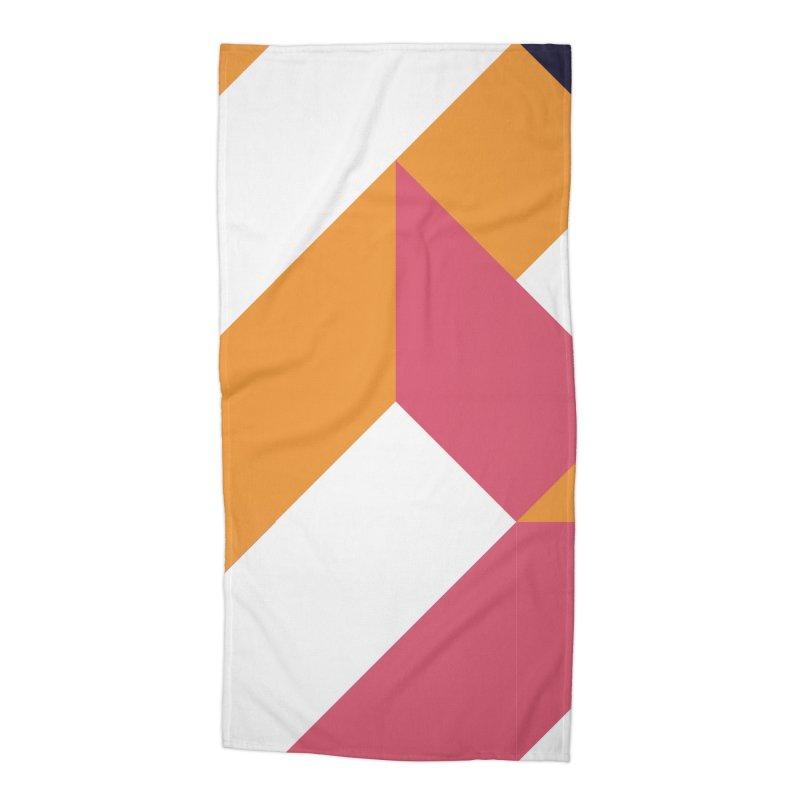 Geometric Design Series 4, Poster 5 Accessories Beach Towel by Madeleine Hettich Design & Illustration