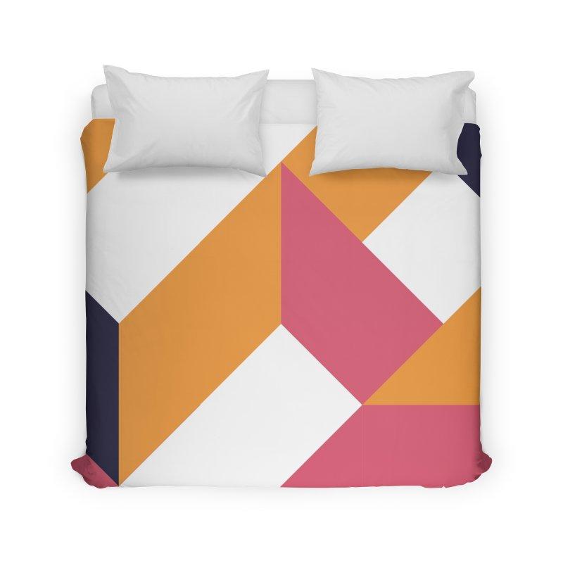 Geometric Design Series 4, Poster 5 Home Duvet by Madeleine Hettich Design & Illustration