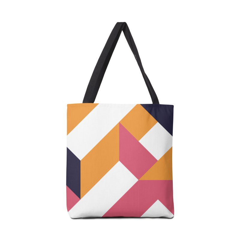 Geometric Design Series 4, Poster 5 Accessories Bag by Madeleine Hettich Design & Illustration