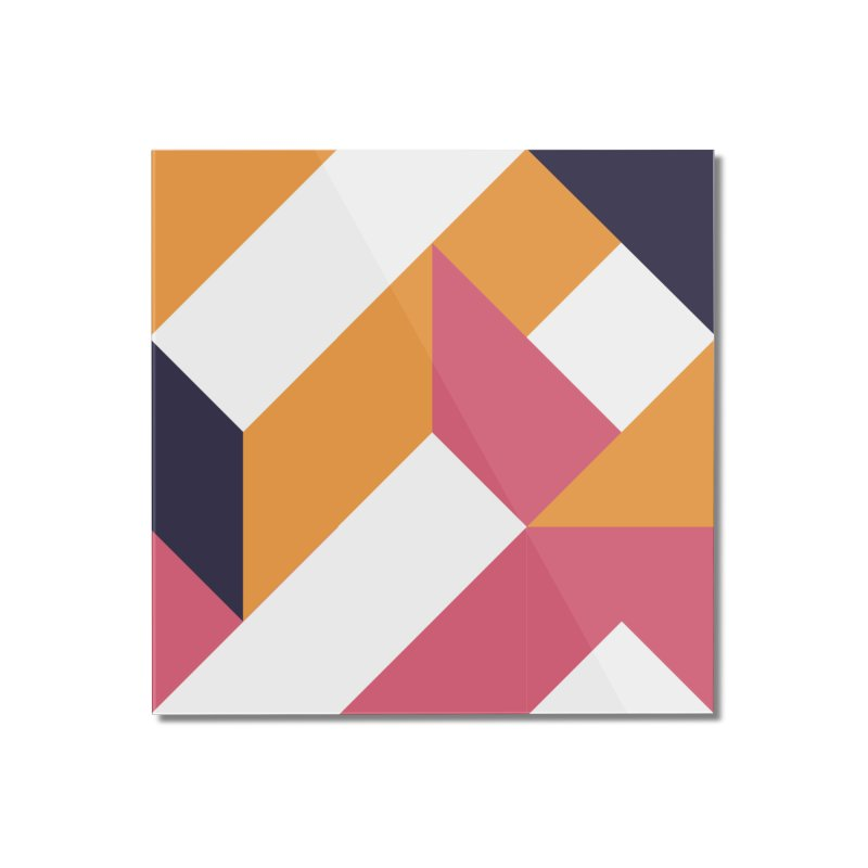 Geometric Design Series 4, Poster 5 Home Mounted Acrylic Print by Madeleine Hettich Design & Illustration
