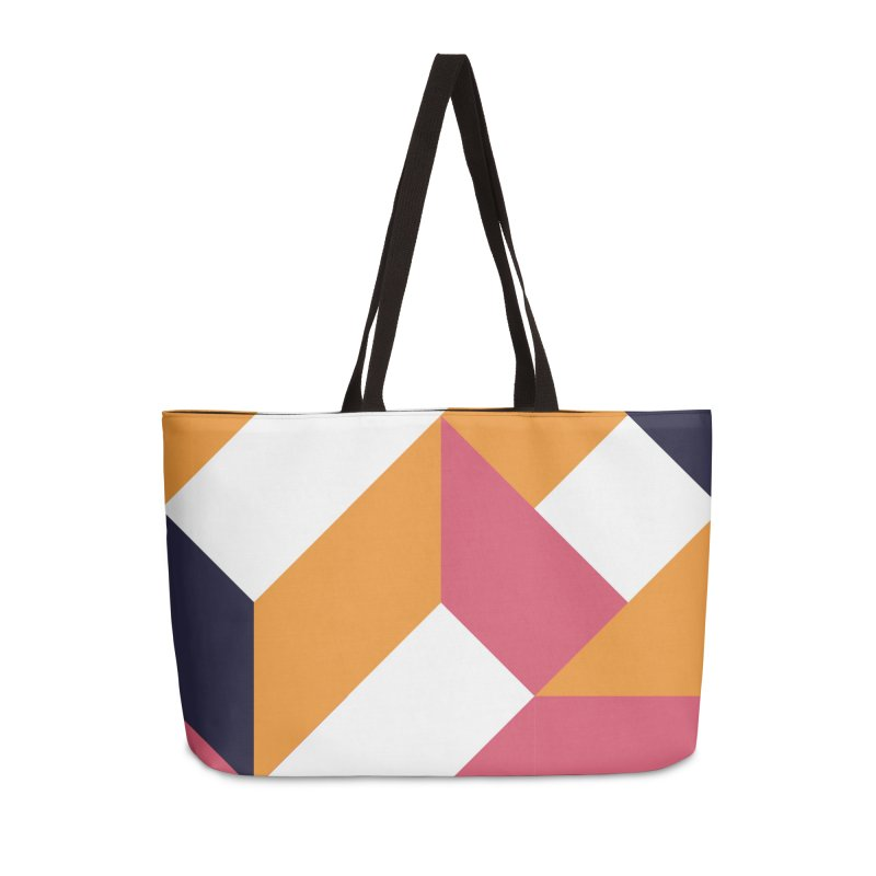 Geometric Design Series 4, Poster 5 Accessories Weekender Bag Bag by Madeleine Hettich Design & Illustration