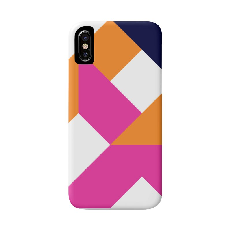 Geometric Design Series 4, Poster 5 (Version 2) Accessories Phone Case by Madeleine Hettich Design & Illustration
